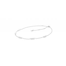 Caitlin - Сребърно колие с Перли А 4 - 4.5 мм SK20485N