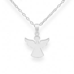 Pendant Angel - Сребърна висулка Ангел без Камък 10631964