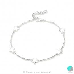 Karyna - Сребърна гривна Звезда 10632129
