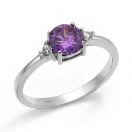 Abelie - Сребърен пръстен с Циркони 70123316P