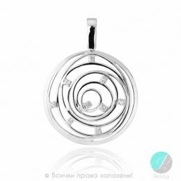 Sharlot - Сребърена висулка с Цирконий 176099