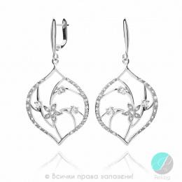 Adriane - сребърни обеци с Цирконий 140091