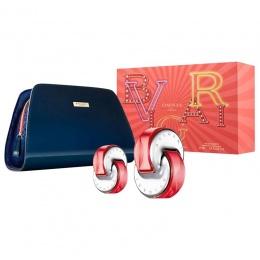 Комплект за жени BVLGARI OMNIA CORAL - Тоалетна вода 65 мл + 15 мл + несесер-Парфюми