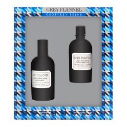 Комплект за мъже Geoffrey Beene Grey Flannel - Тоалетна вода EDT 120 мл + Афтършейв лосион ASL 120 мл