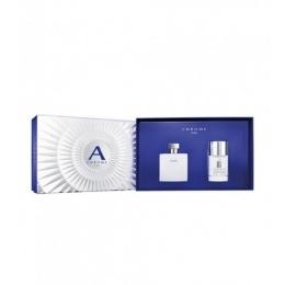 Комплект за мъже Azzaro Chrome Pure - Тоалетна вода EDT 50 мл + Део-стик DEO 75 мл