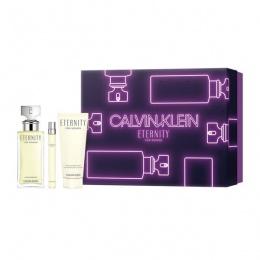 Комплект за жени Calvin Klein Eternity - Парфюмна вода EDP 100 мл + 10 мл + Лосион за тяло BL 100 мл