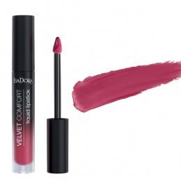 Течно червило IsaDora Velvet Comfort 58, Berry Blush