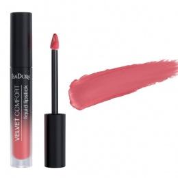 Течно червило IsaDora Velvet Comfort 74, Think Pink
