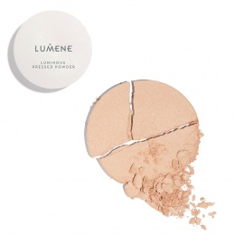 Озаряваща пудра за лице Lumene Luminous 0, Universal Glow