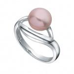 Liamy - Сребърен пръстен с Перла АА 8.5 - 9 мм 12360L-Пръстени