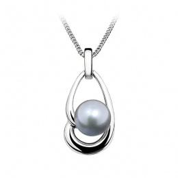 Eloisa - Сребърна висулка с Перла АА 8 - 8.5 мм 14022-Висулки