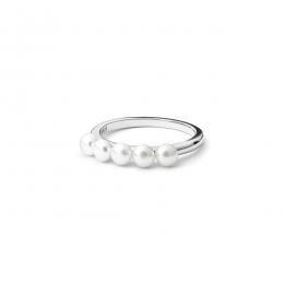 Caitlin - Сребърен пръстен с Перли А 3.5 - 4 мм SK20217R-Пръстени