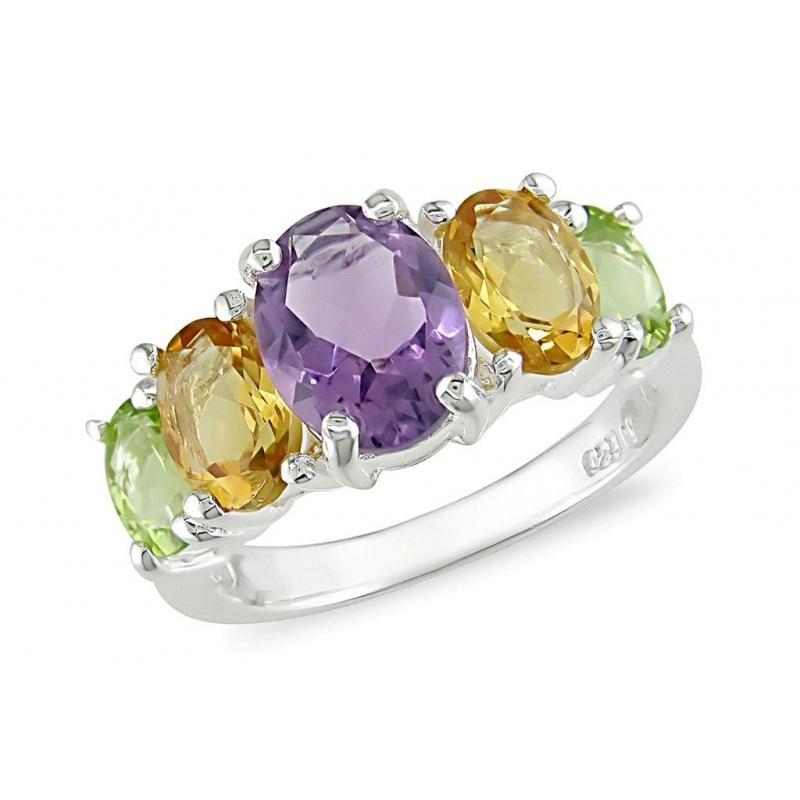 Gosse - Сребърен пръстен с Циркони R1051-Сребърни бижута