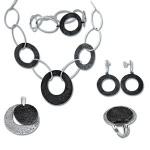 Сребърен комплект с Колие 8000852-Комплекти