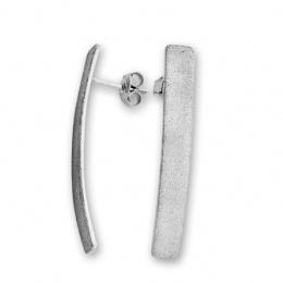 Lucinde - Сребърни обеци без Камък 128014-Сребърни бижута