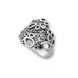 Valensia - Сребърен пръстен без Камък 1546021-Сребърни бижута