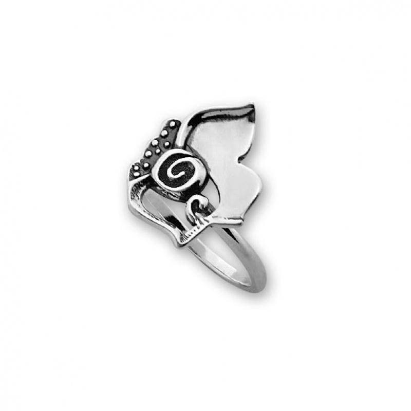 Kremena - Сребърен пръстен без Камък 1566005-Сребърни бижута