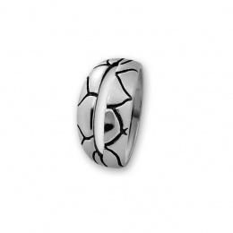 Blancheflor - Сребърен пръстен без Камък 1566007-Сребърни бижута