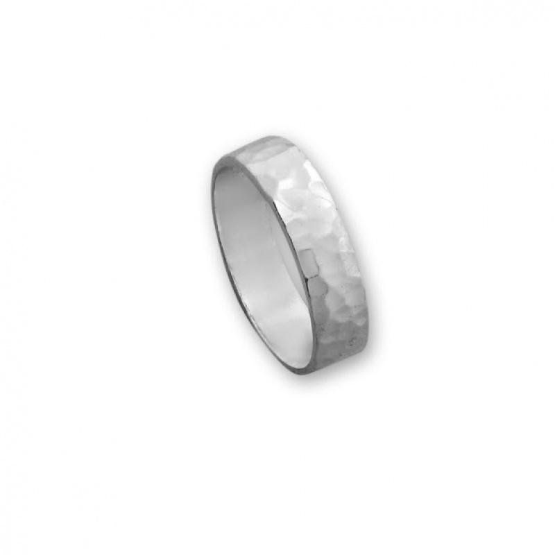 Juliane - Сребърен пръстен без Камък 1566015-Сребърни бижута