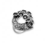Samantta - Сребърен пръстен с Циркони 1616011-Сребърни бижута