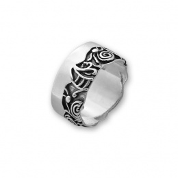 Weslli - Сребърен пръстен без Камък 1666006-Сребърни бижута