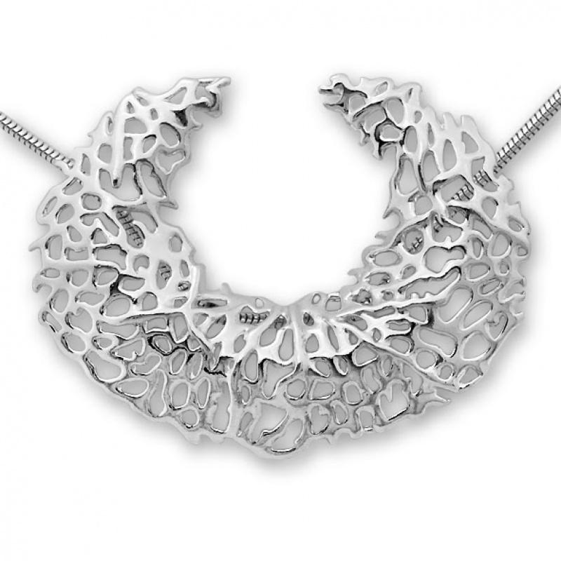 Leonie - Сребърна висулка без Камък 172586-Сребърни бижута