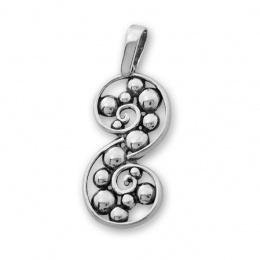 Jessamond - Сребърна висулка без Камък 181009-Сребърни бижута