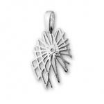 Cadice - Сребърен комплект от три части без Камъни - Обеци, Висулка и Пръстен 8000010-Сребърни бижута