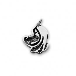 Deva - Сребърна висулка Дева без Камък 181567-Сребърни бижута