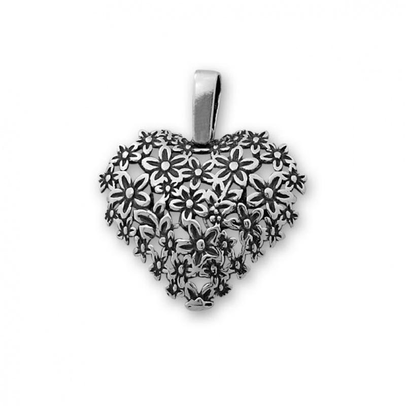 Honoree - Сребърна висулка без Камък 181574-Сребърни бижута
