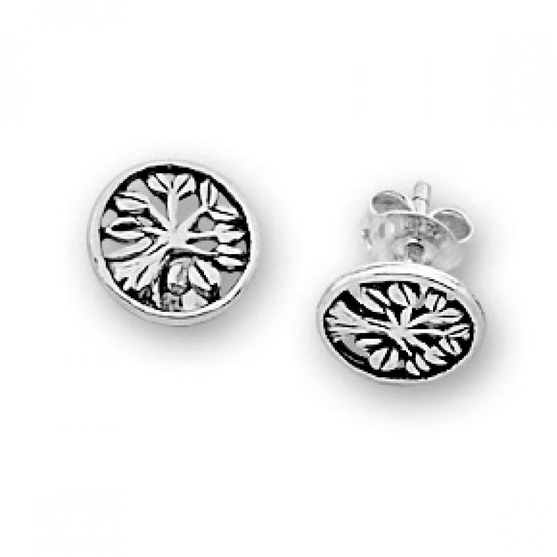 Mora - Сребърни обеци без Камък 111620-Сребърни бижута