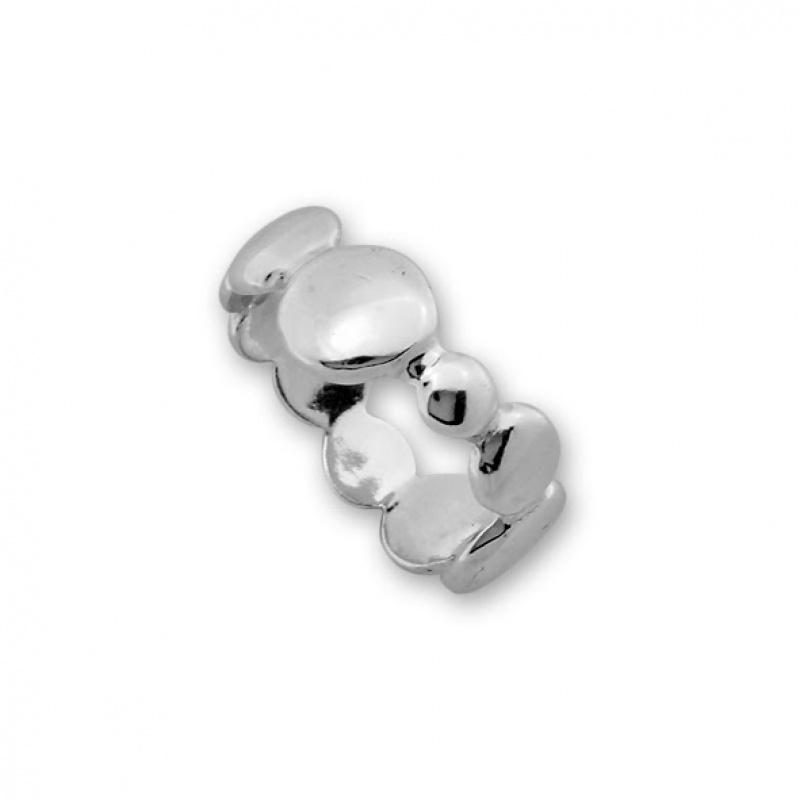 Lacy - Сребърен пръстен без Камък 1536034-Сребърни бижута