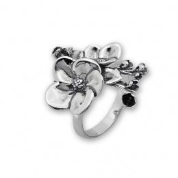 Jess - Сребърен пръстен без Камък 1546049-Сребърни бижута