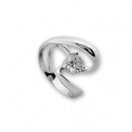Mercia - Сребърен пръстен с Циркон 1596046-Сребърни бижута