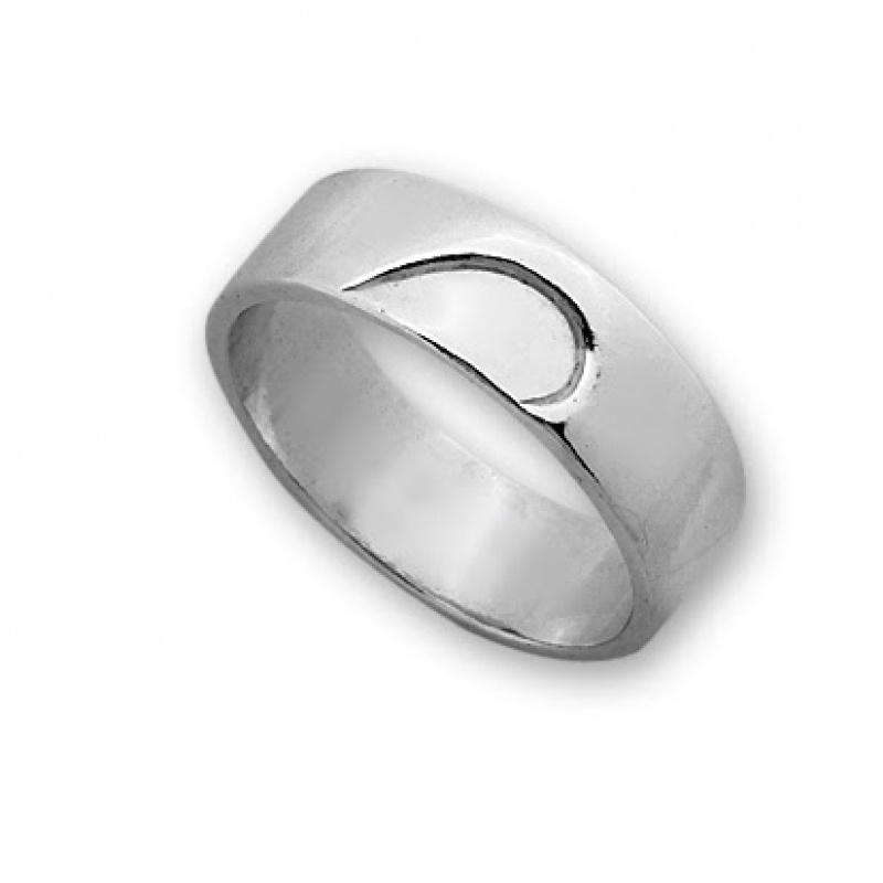 Ziky - Сребърен пръстен без Камък 1665268-Сребърни бижута