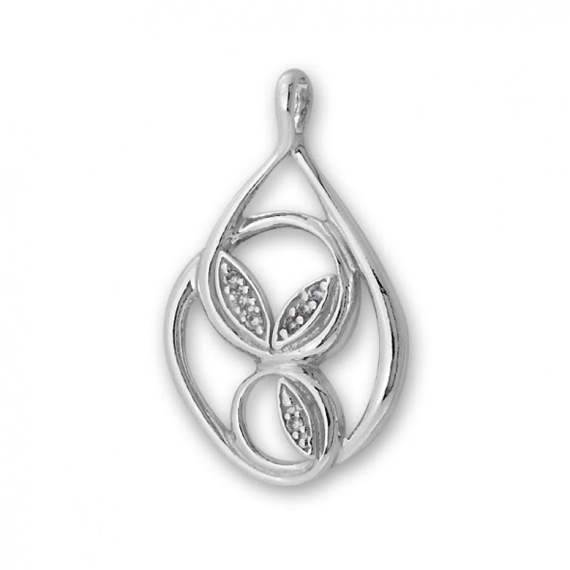 Lalia - Сребърна висулка с Циркони 176035-Сребърни бижута