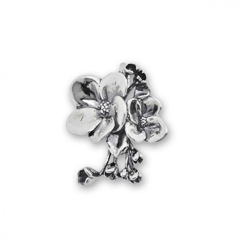 Jess - Сребърна висулка без Камък 181049-Сребърни бижута