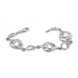 Lalia - Сребърна гривна с Циркони 200035-Сребърни бижута