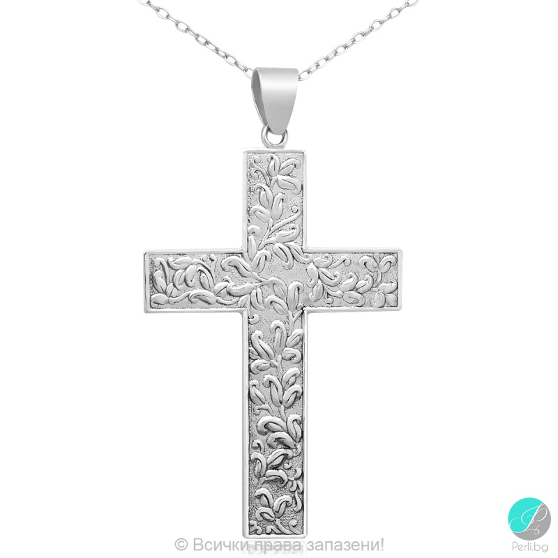 Zina - Сребърна висулка Кръст 5470618411-Сребърни бижута