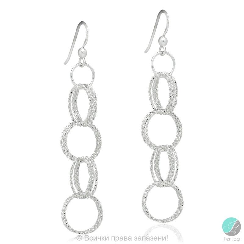 Lalys - Сребърни обеци 5470621744-Сребърни бижута