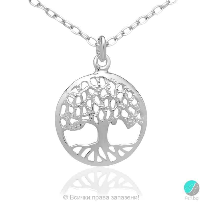 Lidis - Сребърна висулка Дървото на живота 5470622008-Сребърни бижута