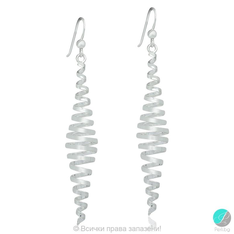 Dalynn - Сребърни обеци спирала 5470622184-Сребърни бижута
