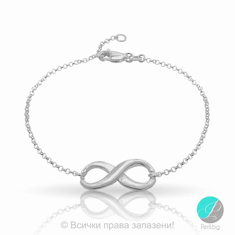 Haven - Сребърна гривна безкрайност 171063888-Сребърни бижута