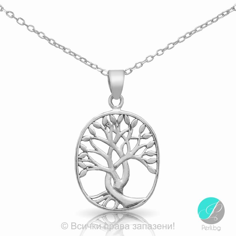 Britta - Сребърна висулка Дървото на живота 5470620103-Сребърни бижута