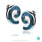 Eve - Сребърни обеци с Опал 1891479373-1-Естествени камъни