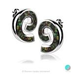 Eve - Сребърни обеци с Опал 1891479373-2-Естествени камъни