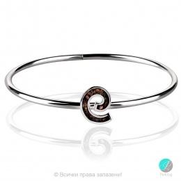 Eve - Сребърна твърда гривна с Опал 1891479459-Естествени камъни