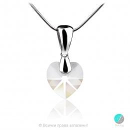 Semana - Сребърно колие с кристал Сваровски 10 мм 62024035