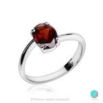 Kami - Сребърен пръстен с Гранат 2217G-Естествени камъни