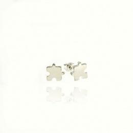 Bettye - Сребърни обеци без камък 111122
